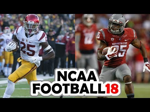 USC @ Washington State - 9-29-17 NCAA Football 18 Week 5 Simulation (UPDATED ROSTERS)
