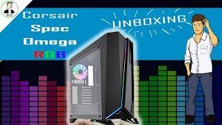 Corsair Spec Omega RGB CASE UNBOXING