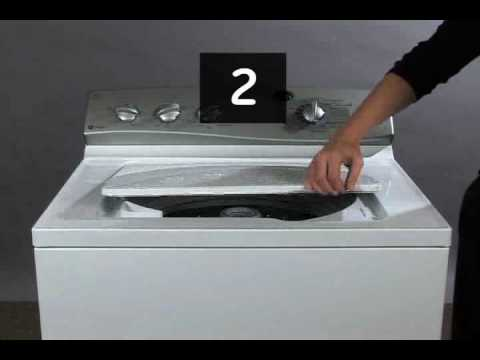Top Load Washer - Hydrowave Motor Reset