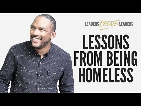 LESSONS I LEARNED FROM BEING HOMELESS - Everette Taylor ...