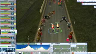 Pro Cycling Manager 2008 Gameplay [Embrun - L