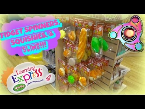 Justice Squishies Amp Fidget Spinners Shopping Mall Vlog