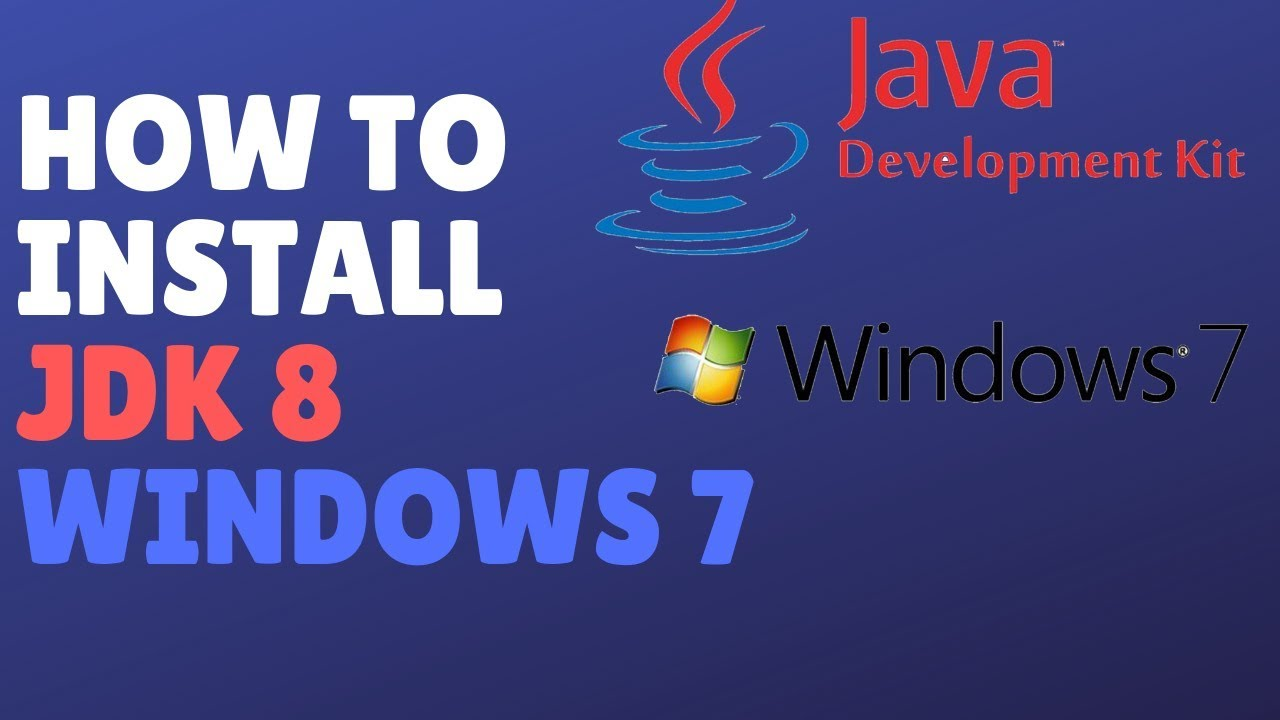 How To Download Install And Configure Java Development Kit (Jdk) 8 On  Windows 7