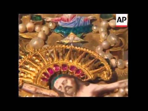 USA: WASHINGTON: EXHIBIT OF RUSSIA'S IMPERIAL JEWELS TO TOUR US