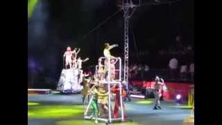 Clara Ruiz -Opening Act  Monterrey - Monterrey Mexico - Ringling Brothers Circus