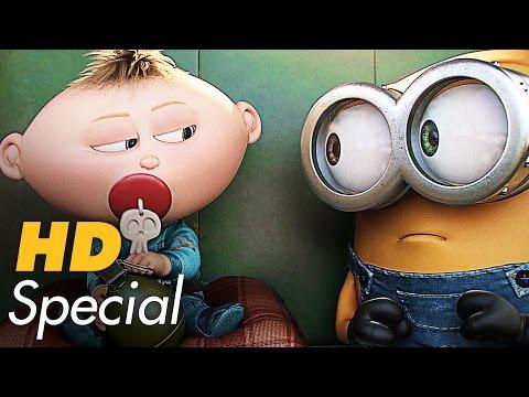 DIE MINIONS Trailer & Filmclips Deutsch German (2015)