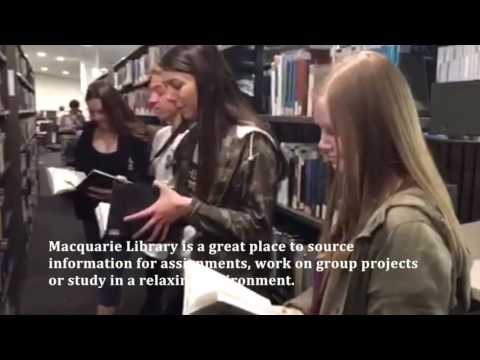 A quick tour of Macquarie University - ISYS100