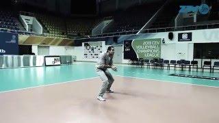 Мастер-класс. Владислав Бабичев . Как правильно принимать в волейболе / How to recieve in volleball
