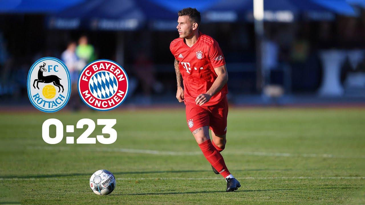Fc Rottach Egern Fc Bayern Munchen 0 23 Volle Lange Testspiel