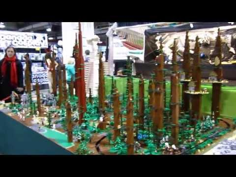 Gigantic Star Wars LEGO Display at the 2013 Calgary Expo