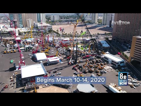 Con Expo Construction Trade Show In Las Vegas