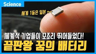 """""""꿈의 배터리"""" 삼성, LG, SK,…"""