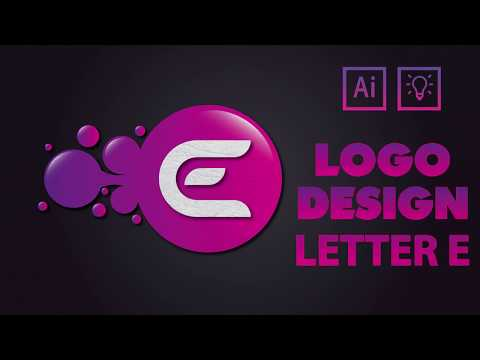Illustrator CC Tutorial | Graphic Design |  Creative Letter E