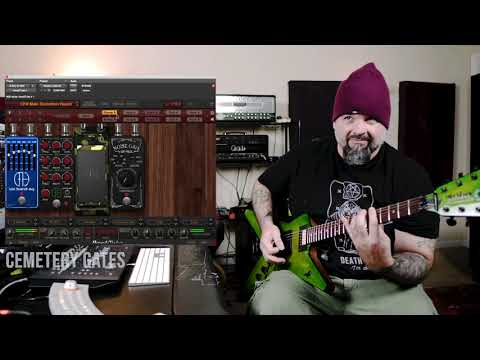 Wes Hauch Demonstrates Dimebag Darrell CFH Collection for AmpliTube