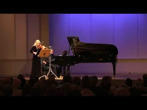 Gudrun Schaumann & Anthony Spiri play Robert Schumann Sonata d minor op.121: III Leise, einfach