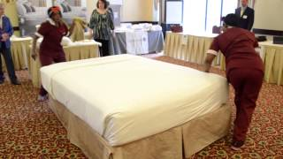 Bed-making Competition