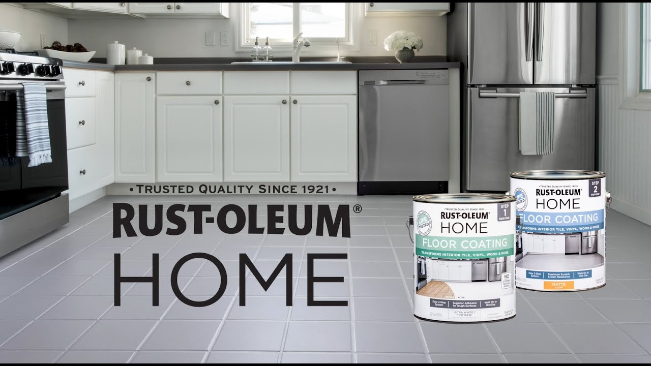 How To Paint A Floor   Transform Outdated Interior Floors With Rust Oleum  HOME