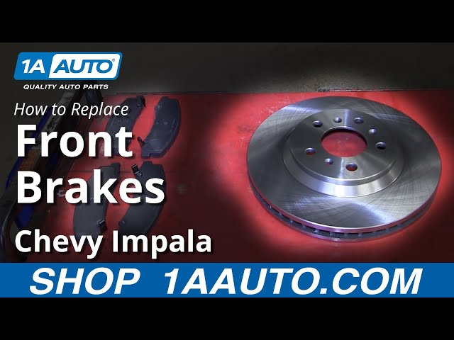 Ceramic Pads 2006 2007 2008 2009 2010-14 Chevrolet Impala Front Brake Rotors