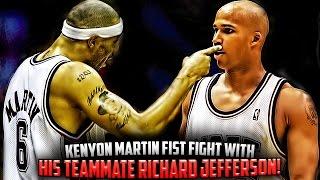 The Time Richard Jefferson & Kenyon Martin Had A Fight!