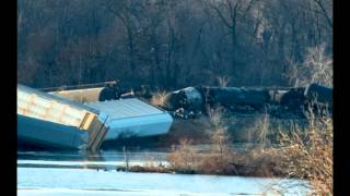 Second Train Derails In Wisconsin In Two Days