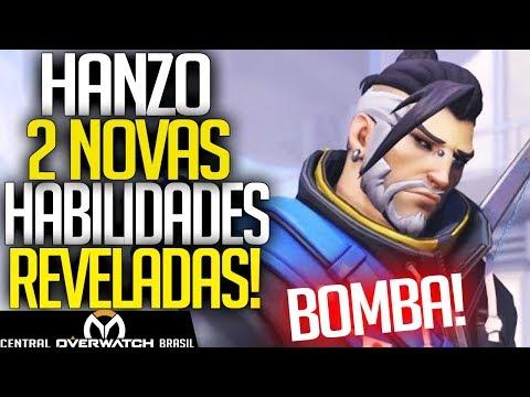 OVERWATCH - REVELADAS AS 2 NOVAS HABILIDADES DO HANZO!! + MEI/SOMBRA BUFF - Central Overwatch Brasil