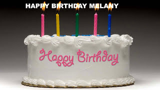 Melany - Cakes Pasteles_1234 - Happy Birthday
