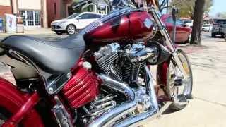 2008 Harley Davidson Fxcwc Softail Rocker C For Sale~lots Of Tasty Modifications!