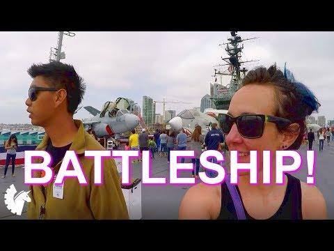 All Aboard the Aircraft Carrier! (USS Midway, San Diego, CA) Battleship