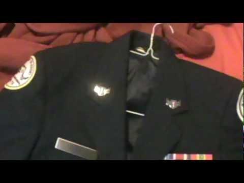 Jrotc dress blues rank placement on garrison