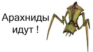 Арахниды идут ! ( Half Life 2 )