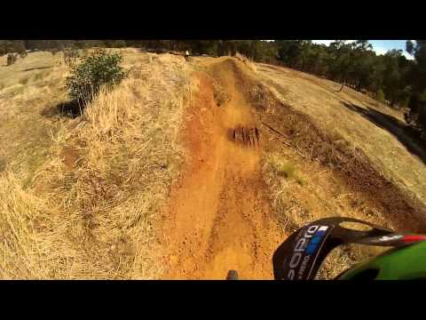Jump Track, The Goat Farm MTB Park, Perth WA