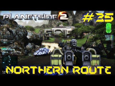 Planetside 2 #35 - Northern Route (NC - Amerish)