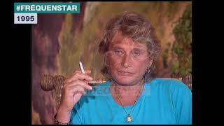 Extrait archives M6 Video Bank //  Fréquenstar - Johnny Hallyday (1995)