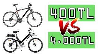 400 TL'lik Bisiklet VS. 4000 TL'lik Bisiklet