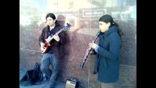 "Dueto de jazz gitano ""Tziganos"" centro de Juárez"
