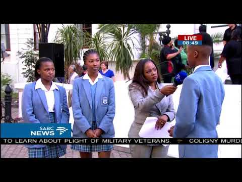 National Library of South Africa in Cape Town - students