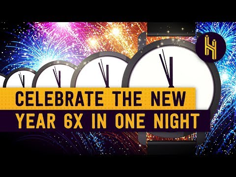 How to Celebrate New Year's Eve Six Times in One Night