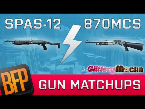 Spas-12 vs 870MCS   Gun Matchups with GlitteryMocha   Episode 6