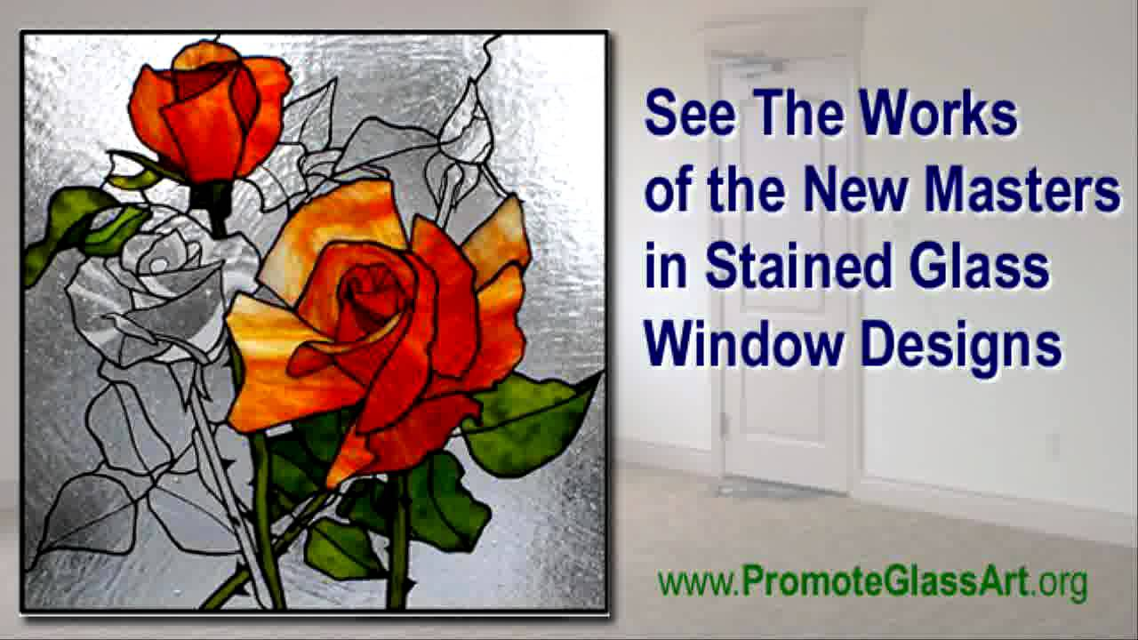 Modern Glass Painting Pictures