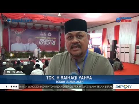 Jokowi Siap Kampanye Terbuka Di Aceh