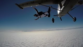 First Skydive test GoPro Hero 4!! Amazing!!