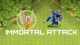 P.E.A.K.A IMMORTAL ATTACK| Clash of Clans Immortal Attack Healer And Peaka