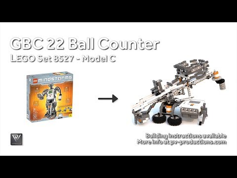 GBC 22 Ball Counter - 8527 Building Instructions