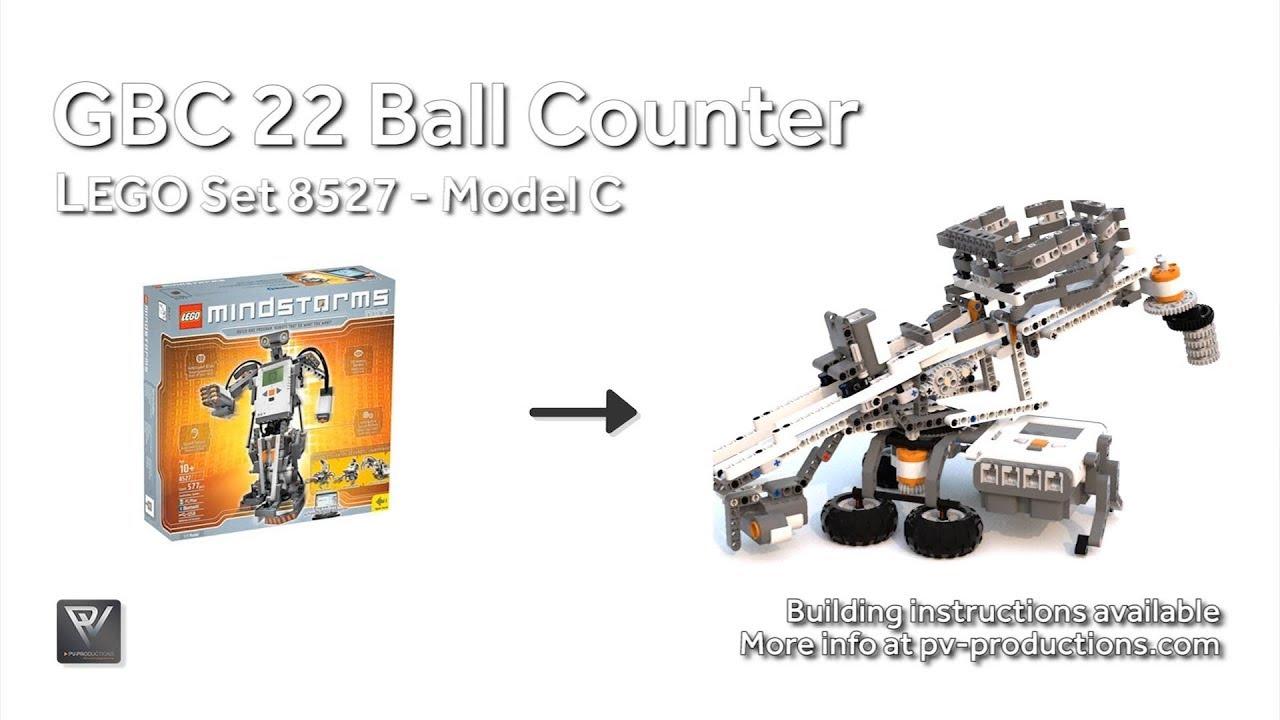 GBC 22 Ball Counter - Building Instructions - 8527 C Model