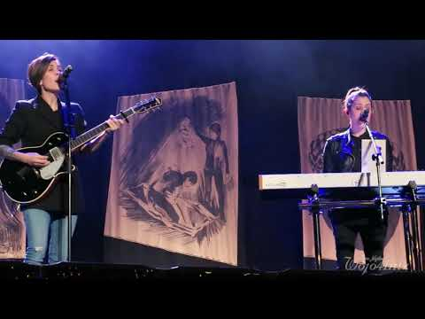 8/21 Tegan & Sara - Sara Sings Soil, Soil @ Paramount Theatre, Austin, TX 11/16/17