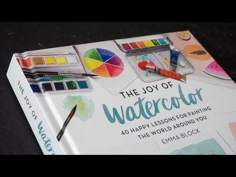 book-review:-joy-of-watercolor-by-emma-block