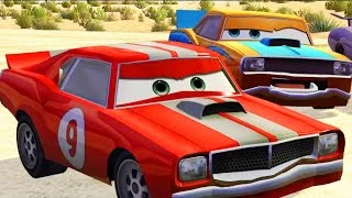 CARS - Mater National Championship Walkthrough #4 HD Lightning McQueen