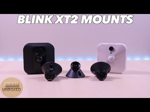 Blink XT2 Camera Mounts - New factory mounts for your cameras!