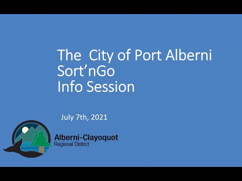 Sort'nGo Info Session - july 7th, 2021