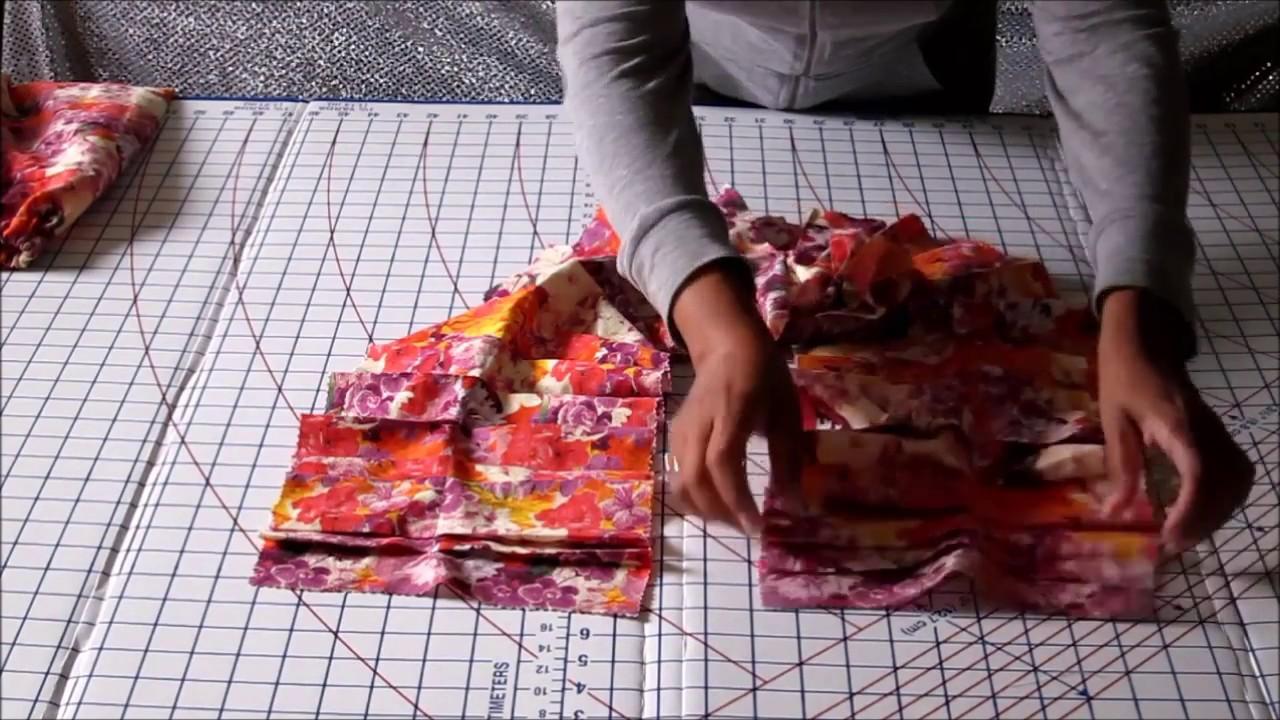 DIY Fashion Scarf Tutorial - Step-by-Step - YouTube